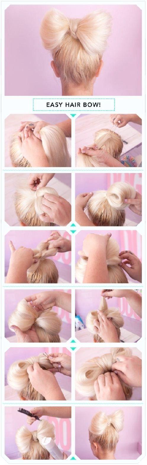 13 interessante Tutorials für alltägliche Frisuren # Frisur Pferdeschwanz