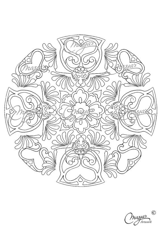 Mandala Market Gardens The Layout: 17 Best Images About Coloring Book Pages To Help With