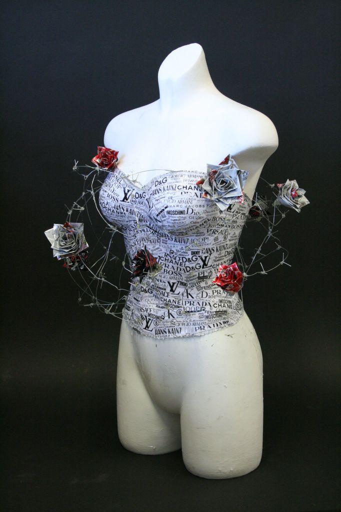 corset for Art GCSE