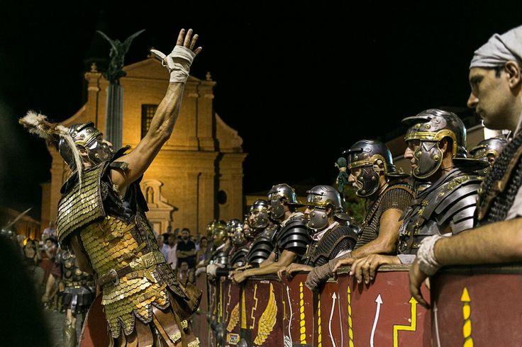 LEGIO XIII GEMINA | Legionnaires -  Roman reenactment - Crossing the Rubicon, Jul. 2017
