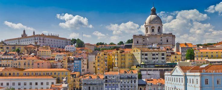 Lisbon old city Portugal