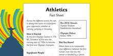 Rio 2016 Olympics  Athletics Info