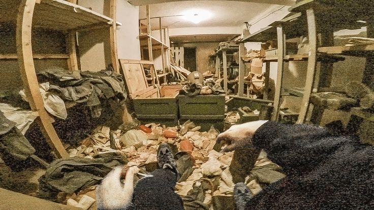 I found a fully stocked underground safe house... - YouTube