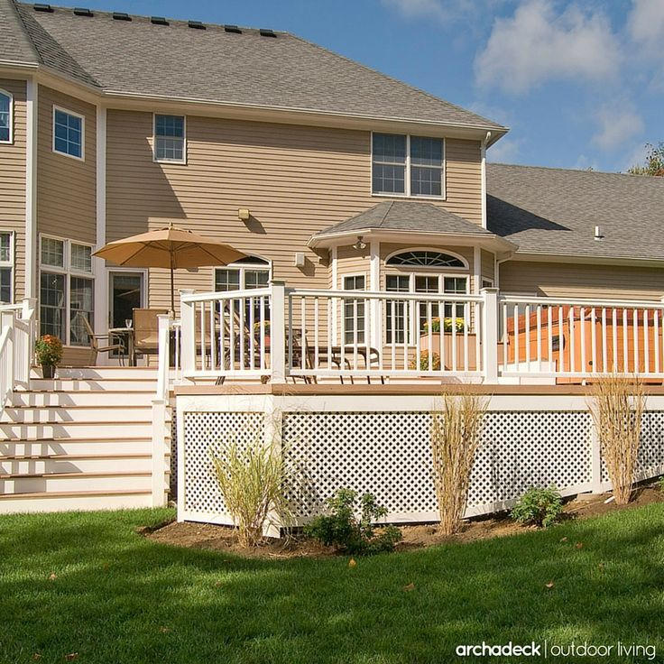 Deck Skirting Materials : Best images about deck skirting ideas on pinterest