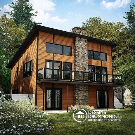 Plan de maison no. W3969 de dessinsdrummond.com