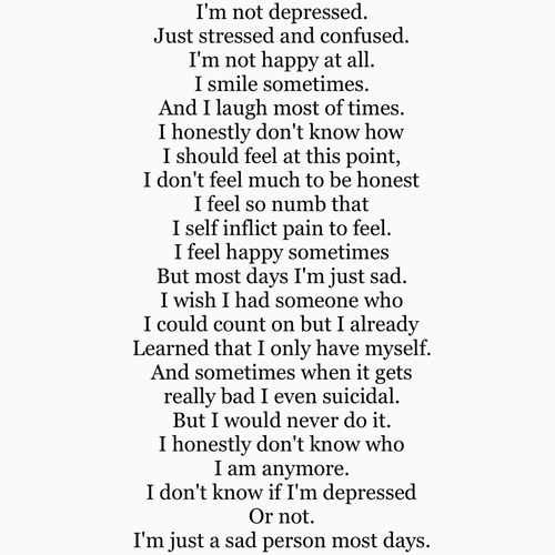 Really Sad Depression Quotes: Depressing Quote 391