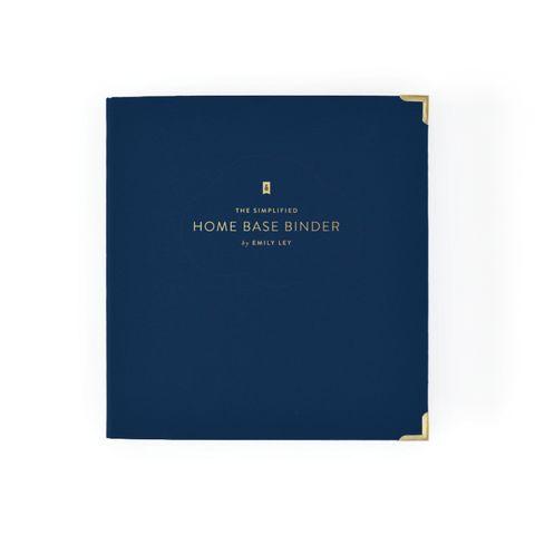 The Home Base Binder Kit - Navy by Emily Ley #FinanceWorksheets #FinanceBinder