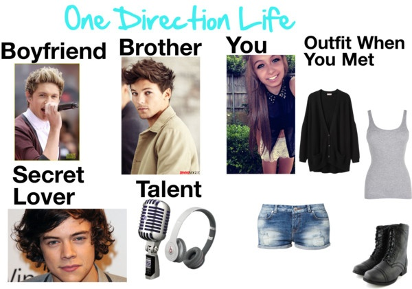 """One Direction Life"" by kyliecraig ❤ liked on Polyvore"