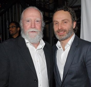 Scott Wilson and Andrew Lincoln
