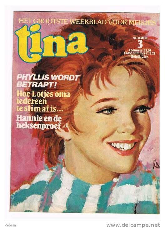 Boeken, Tijdschriften, Stripverhalen > Nederlands > Stripverhalen (in het Nederlands) > Tina Weekblad-strips - Delcampe.net