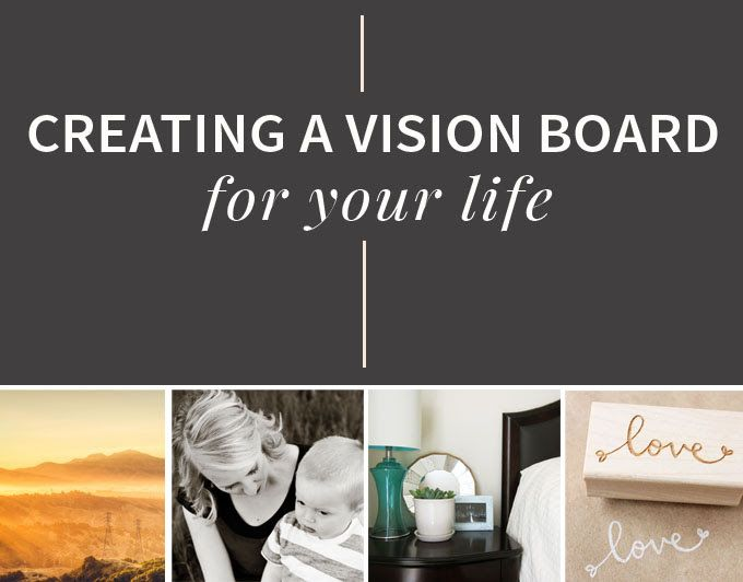 Creating a Vision Board For Your Life | Creative, For ...