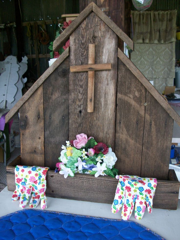 Planter Old Barn Wood | Crafts | Pinterest