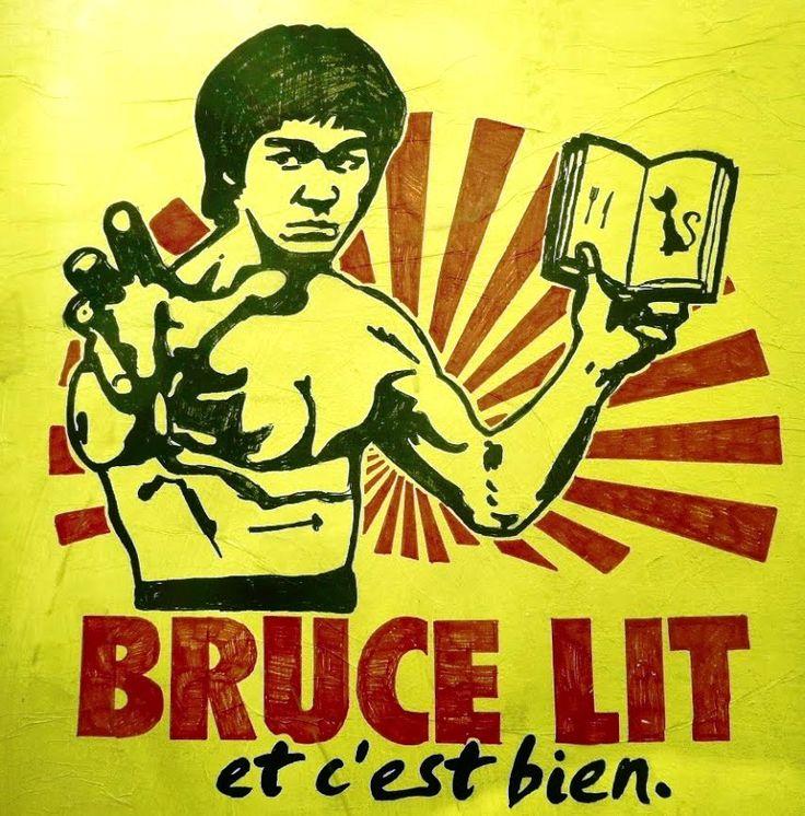 Bruce lit......
