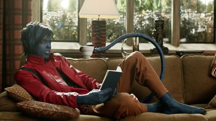 We've heard a very brief bit of dialogue from Nightcrawler already, but this new M & M's advert gives us a much better idea of the German accent Kodi ...