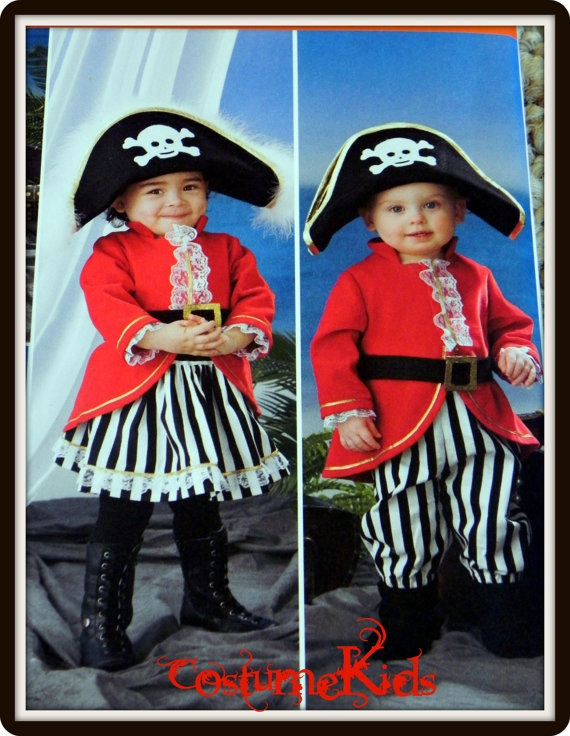 Toddler Pirate Costume Chest messurment 18 to 23 by CostumeKids, $75.00