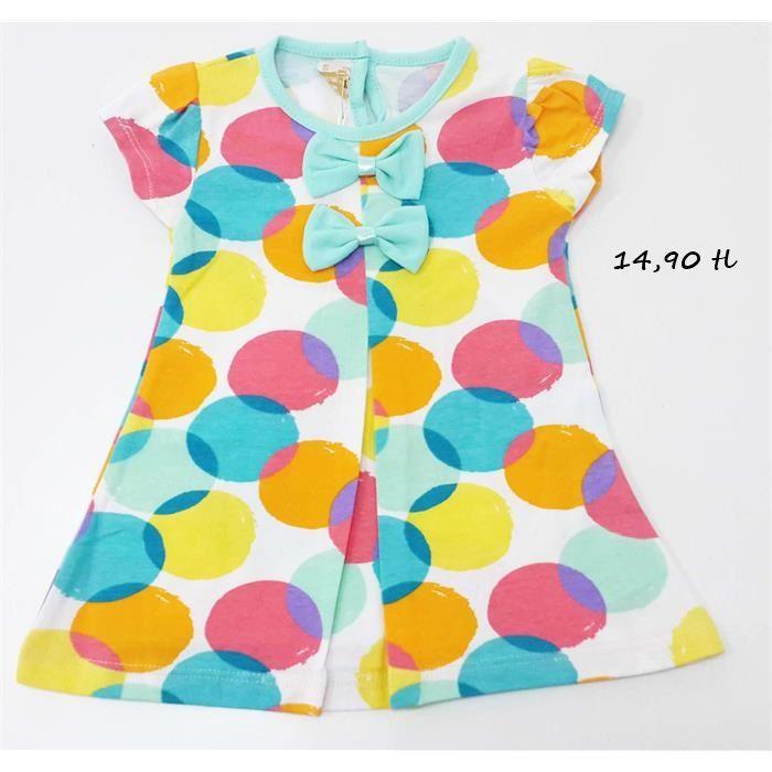 Rengarenk Bebek Elbisesi 6-9,9-12,12-18,18-24 ay 14,90 tl #bebek #bebekelbiseleri #bebekkıyafetleri #bebekmağazası #denizli #onlinesatış #hepsinerakip #kapıdaödemeimkanı