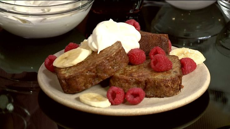Ruthie Knudsen of Cooking with Ruthie has a two for one special with this mouthwatering Banana Bread French Toast Recipe. The banana bread has been passed down from her grandmother, and now she puts her own twist on it! Check out both recipes below! Grams Banana Bread  Ingredients: 	¼ cup butter