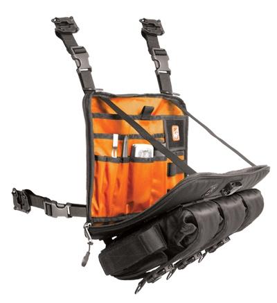 Ventrapack low-profile chest rig/shoulder messenger bag