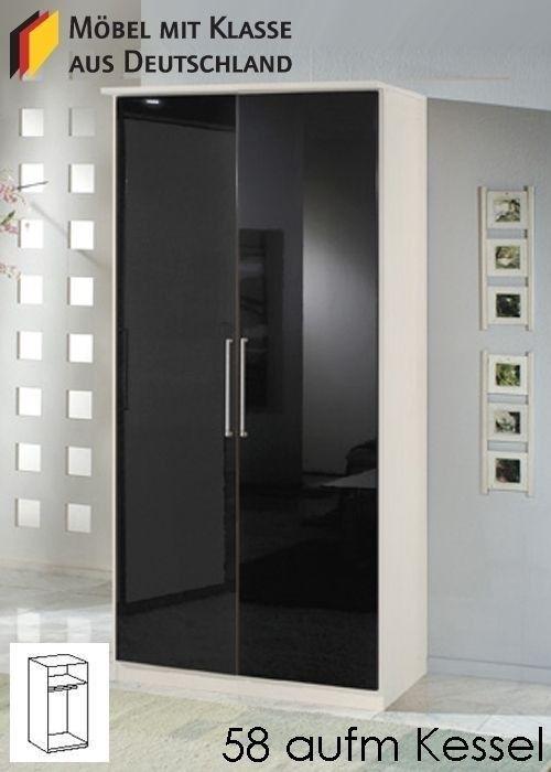 Kleiderschrank weiß schwarz mit spiegel  Die besten 25+ Drehtürenschrank Ideen auf Pinterest | moderner TV ...