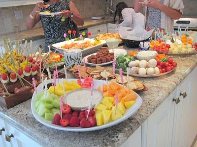 Several App recipe & ideas for wedding shower or cocktail party