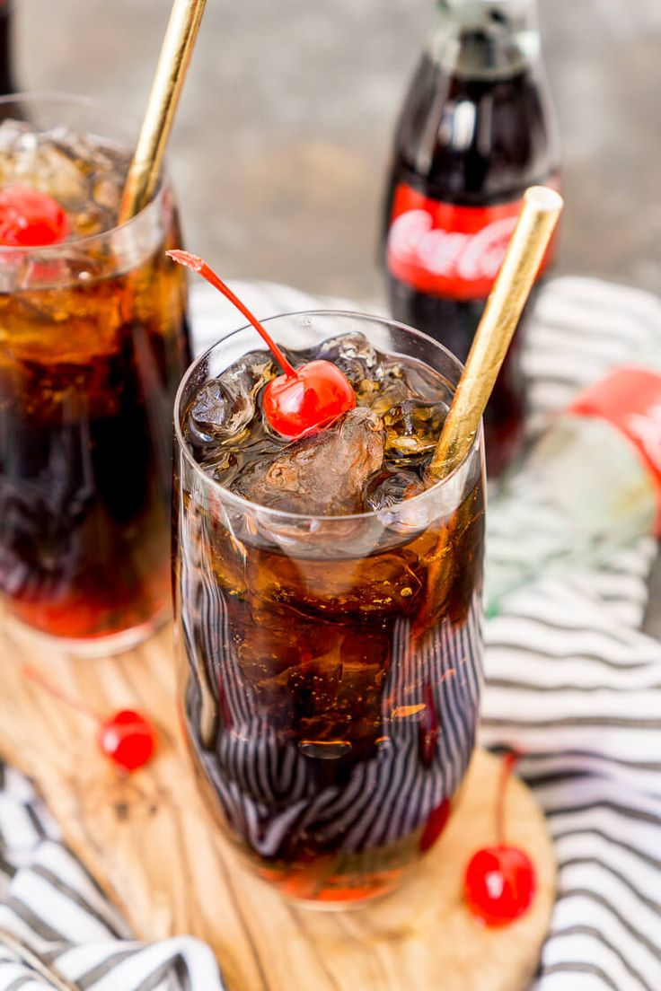 Roy Rogers Mocktail is an easy and popular non-alcoholic drink recipe made with Coke and grenadine and named for the famous singer and actor.