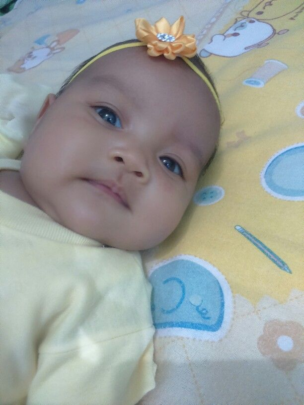 Kia Belle and yellow headband