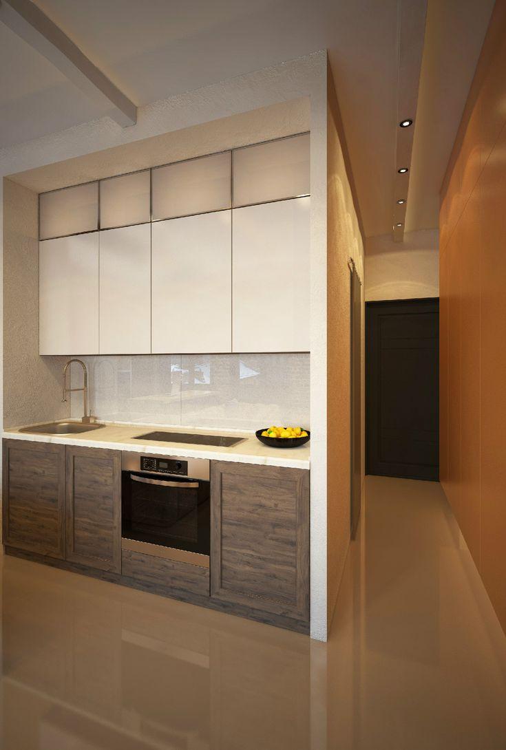 """""""Тише, тише, ЛОФТ на крыше!"""" - Лучший 3D-интерьер однокомнатной квартиры   PINWIN - конкурсы для архитекторов, дизайнеров, декораторов"""