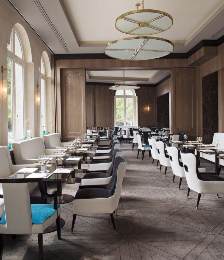 Victoria 1836 restaurant in Paris by Sarah Lavoine