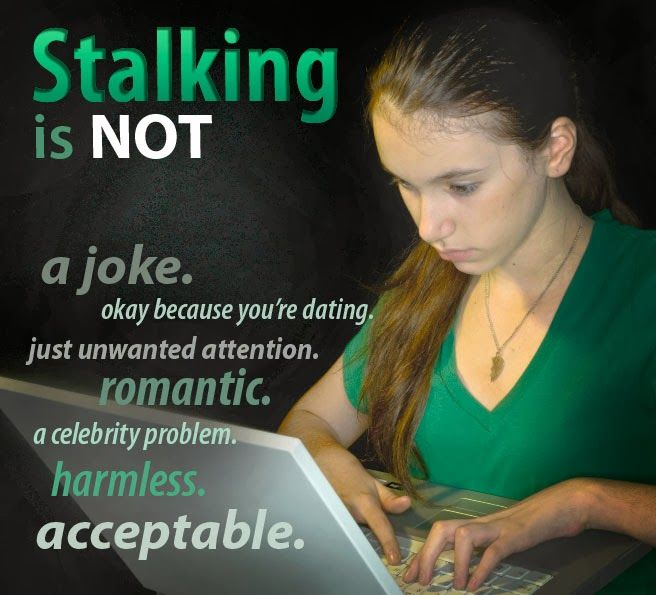Stalking is more than just an annoyance or unwanted attention. It's an abusive behavior and a serious crime. By recognizing this fact and helping to change attitudes, we can better provide support and healing to victims as well as hold their stalkers accountable.http://calvcp.blogspot.com/2014/01/national-stalking-awareness-month_27.html