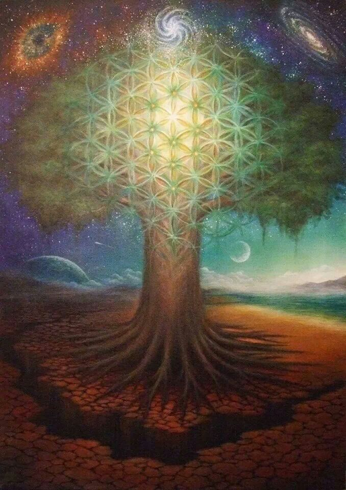 Tree of life -The Sumerian Tree of Life is perhaps 6000 years old, but possibly inherited from 12,000 year old Gobekli Tepe, where a small carving of the tree, serpent, and bird were found.
