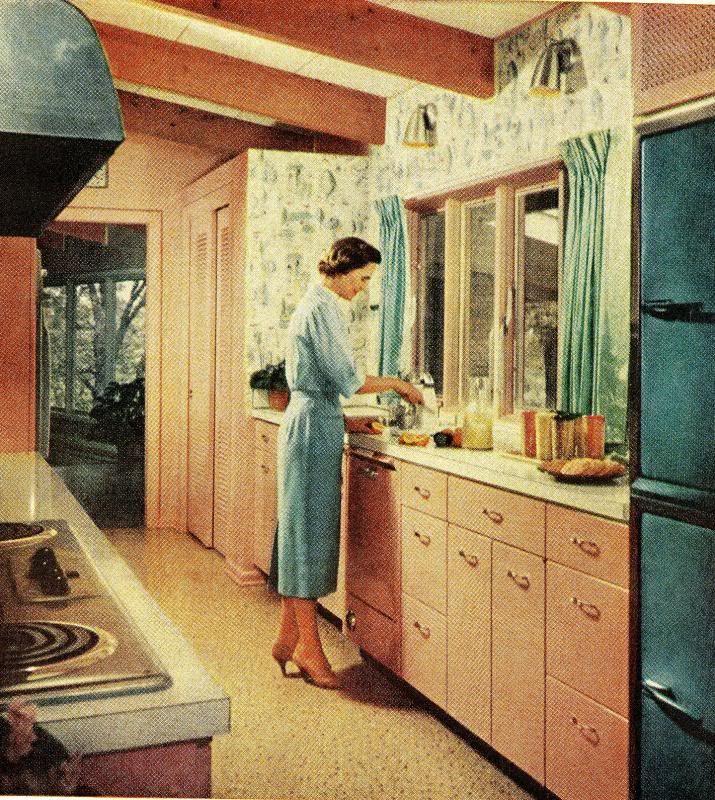 670 best Retro Kitchens images on Pinterest Retro kitchens