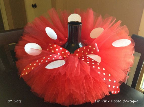 RED MINNIE Mouse Costume Minnie Mouse Tutu by LilPinkGoose on Etsy