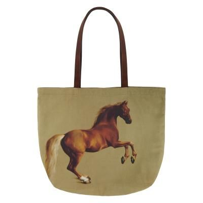 Whistlejacket Tote Bag with Leather Handles