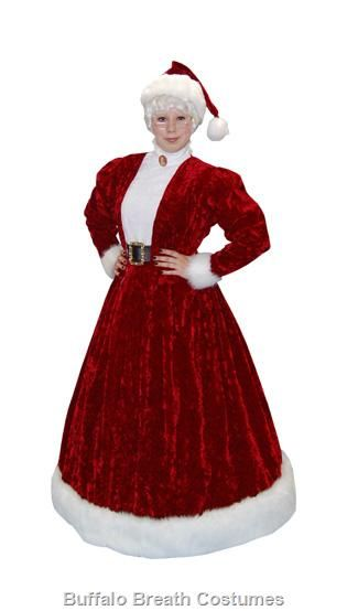 Victorian Mrs Claus Costume