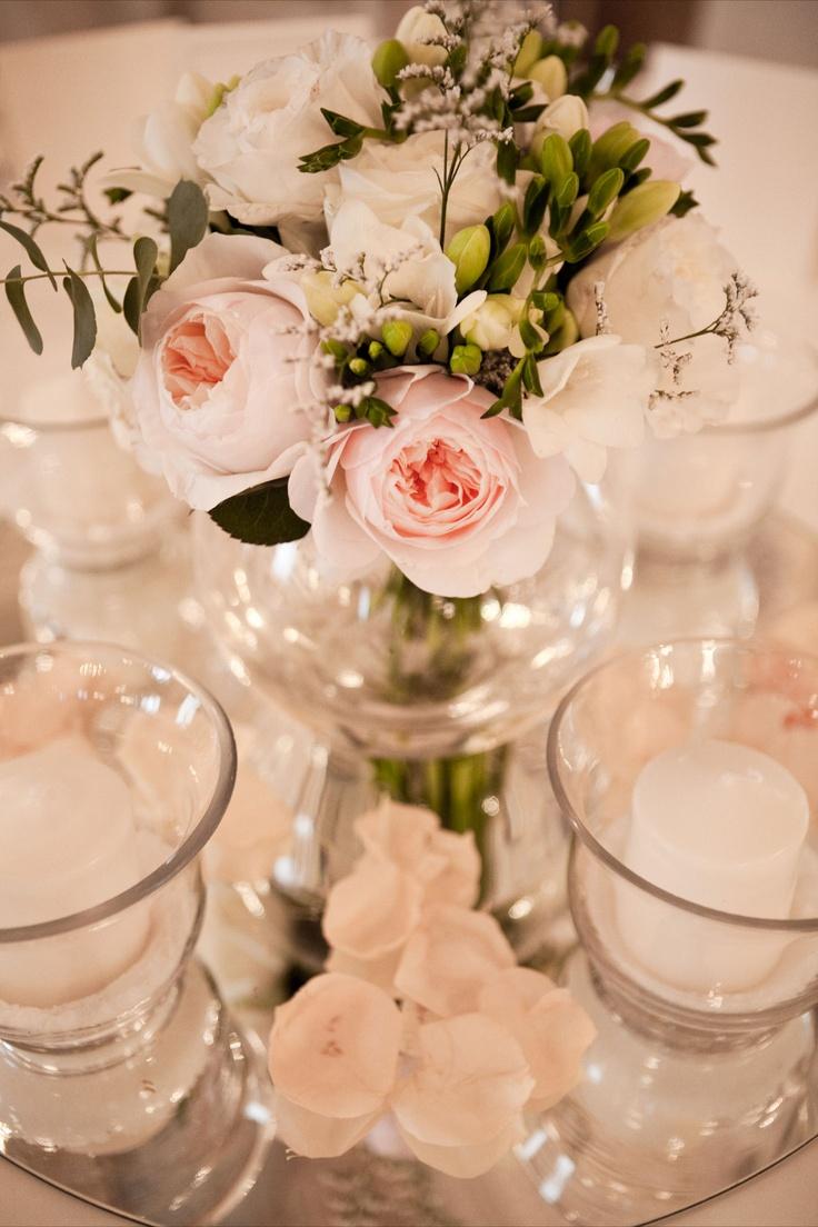 Allestimento floreale soft per nozze