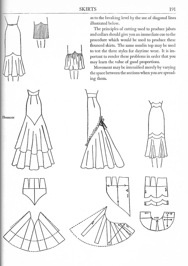 Harriet Pepin on Flounces - Women's Cutter and Tailor - The Cutter and Tailor