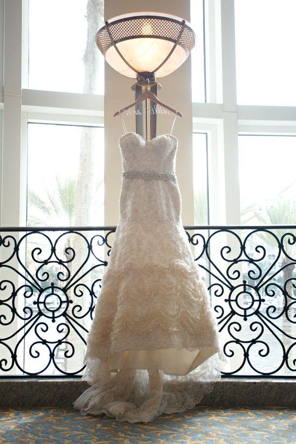 Sweetheart Ruffled Wedding Dress