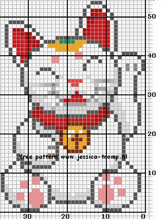 196 Free cross stitch designs cats 8 stitchingcharts borduren gratis borduurpatronen poezen katten kruissteekpatronen