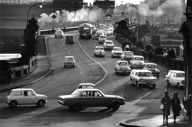 Pyrmont Bridge – 1962