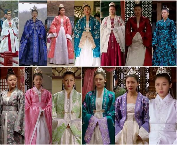 Empress Ki...she's not the empress yet but she dresses like one.