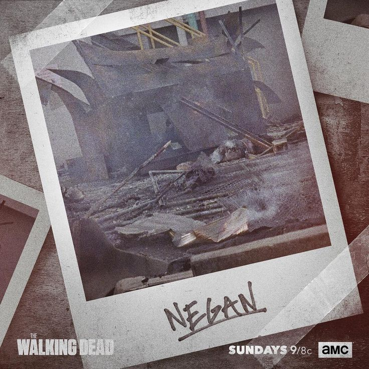 "The Walking Dead (@amcthewalkingdead) on Instagram: ""Straight from Rick's camera. #TWD"" - Negan's Saviors had a wall covered with photos from the people Negan killed with his baseball bat ""Lucille""...they took photos of Abraham and Glenn after they were killed in Season 7."