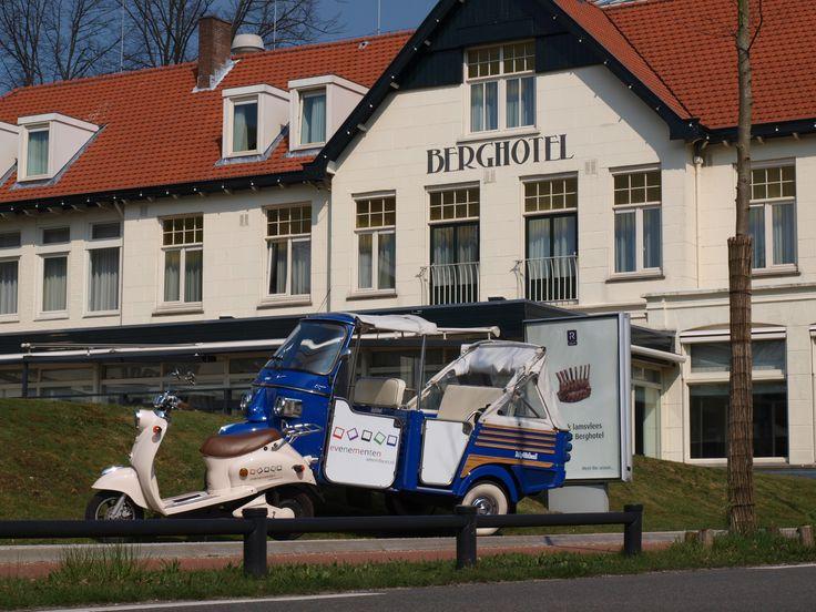 Tuktuk - e scooter battle ! De puzzeltocht door en om Amersfoort met e-scooters en tuktuks.