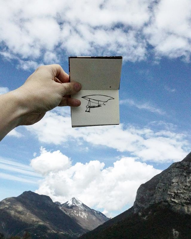 Un petit vol au dessus de Grenoble... #esrf #esrf30 #emptyesrf