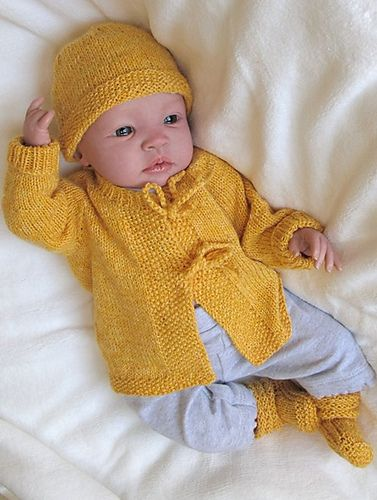 Ravelry: # 121 Newborn Layette pattern by Diane Soucy