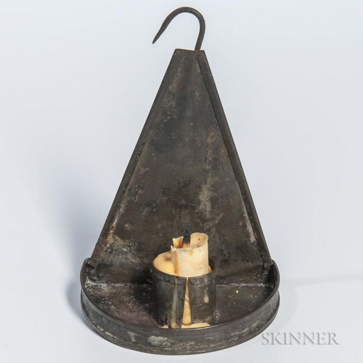 Small Tin Candle Sconce - Price Estimate: $300 - $500