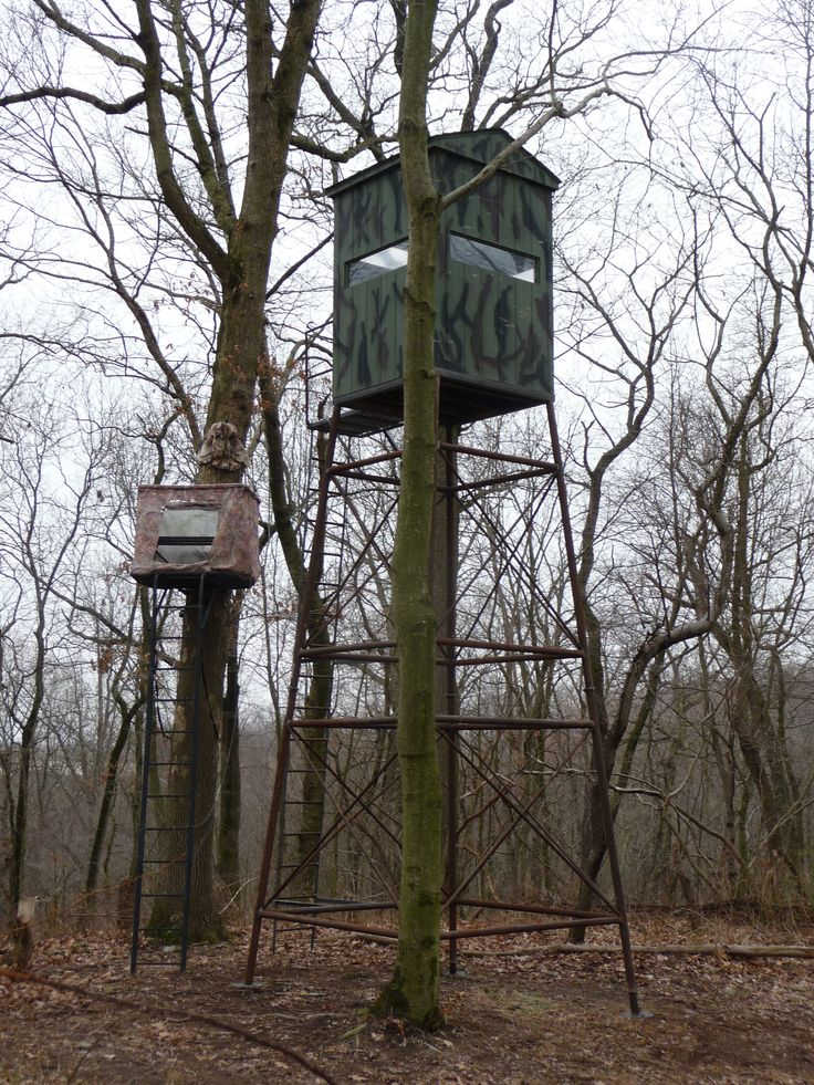 Hunting Blind Tree Stand Custom Built Sheds Pinterest