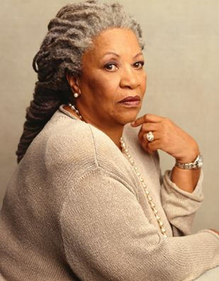 """Toni Morrison! She has won the Pulitzer Prize, the Nobel Prize and the Presidential Medal of Freedom for her contributions to the world of fiction.//  """"I really think the range of emotions and perceptions I have had access to as a black person and as a female person are greater than those of people who are neither. So it seems to me that my world did not shrink because I was a black female writer. It just got bigger."""""""
