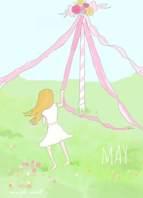 Time to dance around the may pole