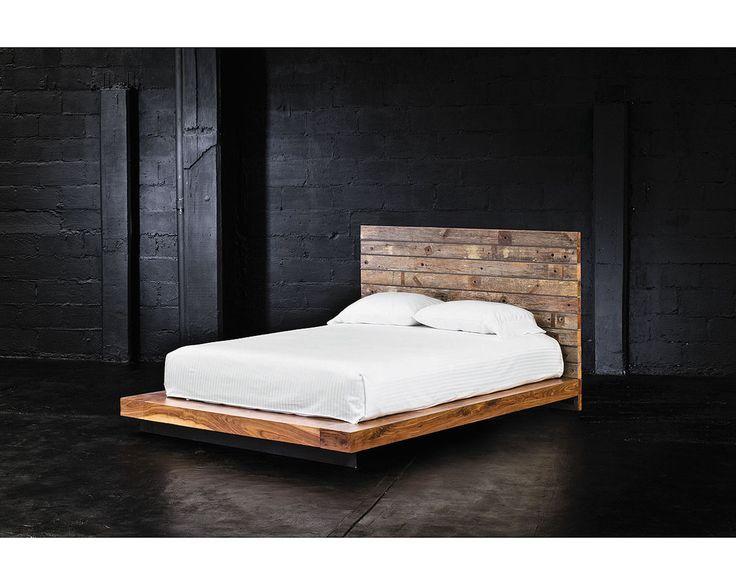 Diy Pallet Wood Bed Frame Diy Pinterest
