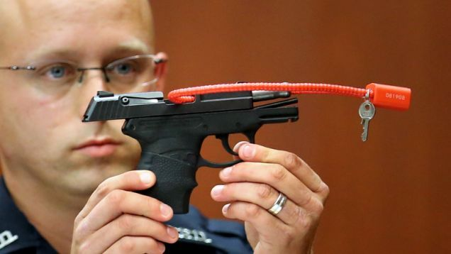 George Zimmerman says he is auctioning off the pistol he used to kill Trayvon Martin, the unarmed black teen whose murder he was acquitted of in 2013.
